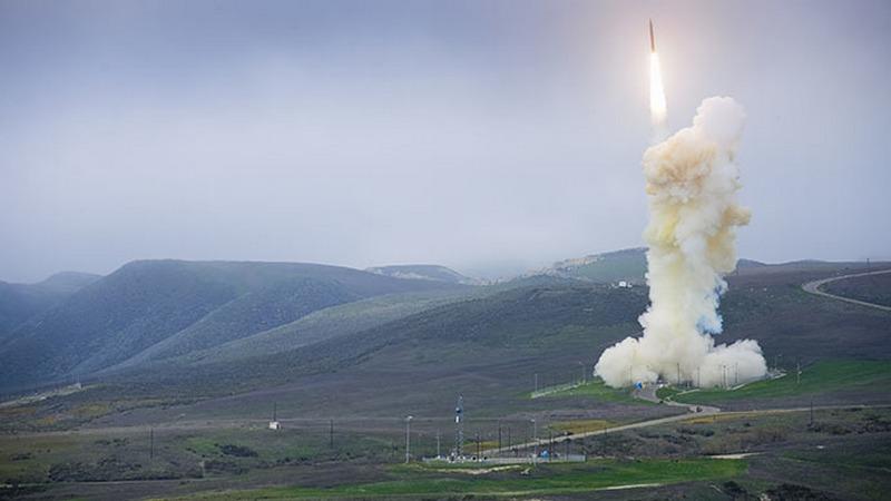 US Military's Interceptor Missile