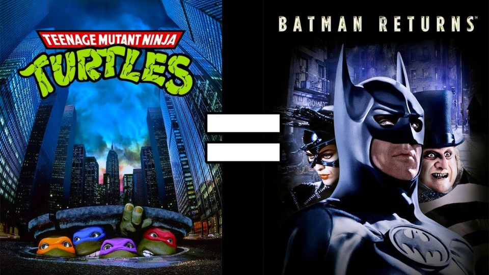 Teenage Mutant Ninja Turtles & Batman Returns