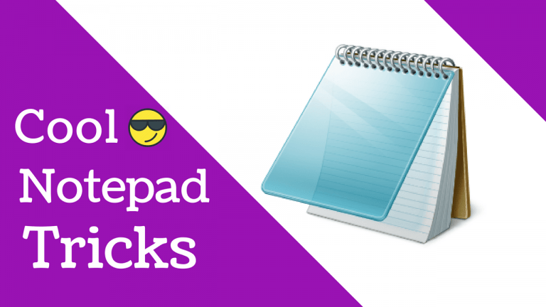 20 Awesome Notepad Tricks And Hacks That You Did Not Know Before