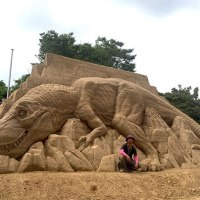 Artist Who Creates Unbelievable Things Out of Sand