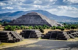Pyramid Of Mexico City