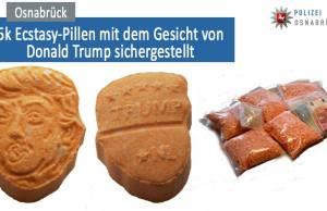 Donald Trump-Shaped Ecstasy Pill