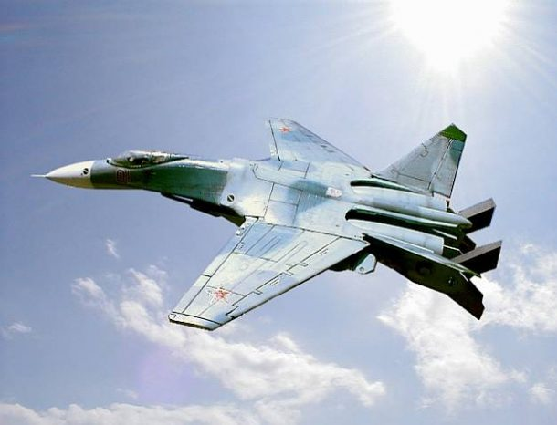 Russian Supersonic Stealth Fighter Jet