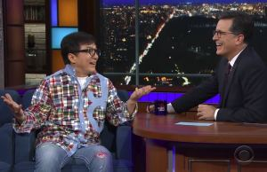 Jackie Chan-Stephen Colbert