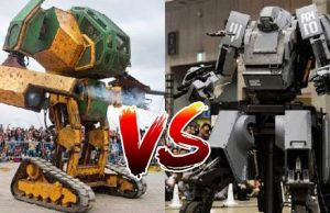 Full USA V/S Japan Megabot Fight