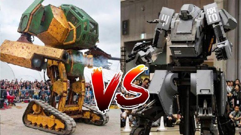 Full USA V/S Japan Megabot Fight