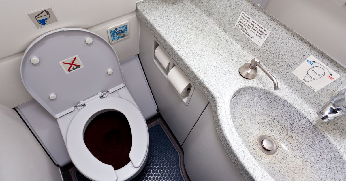 How Do Plane Toilets Work?