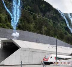 World's Longest Railway Tunnel Now Open In Switzerland