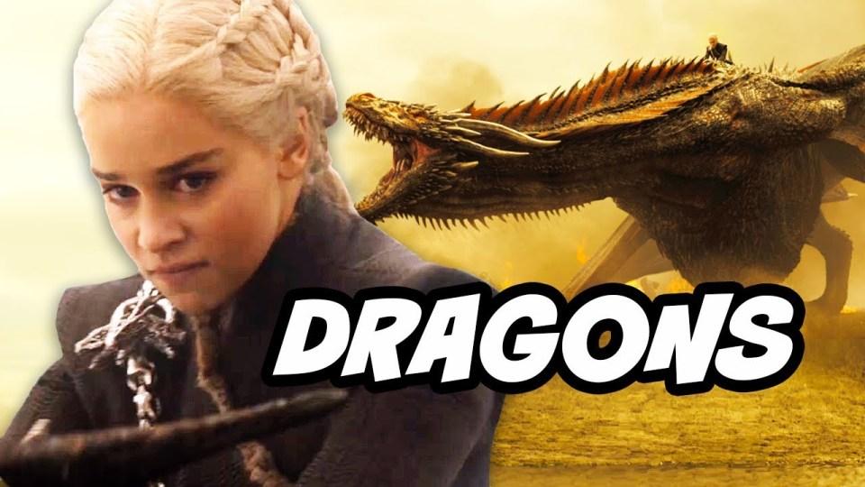 Daenerys Targaryen Dragons