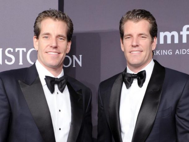 Winklevoss Twins Are The World's First Bitcoin Billionaires, Thanks To Mark Zuckerberg