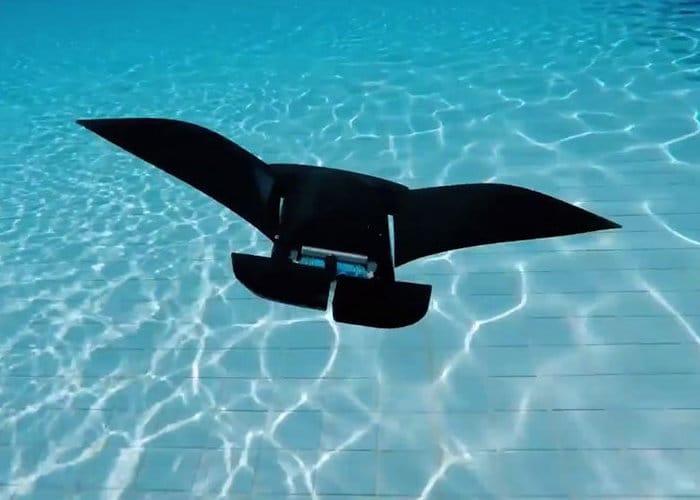 Robotic Manta Ray