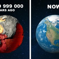 Planet Earth 4,499,999,000 Years Ago