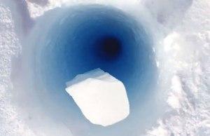 Borehole in Antarctica