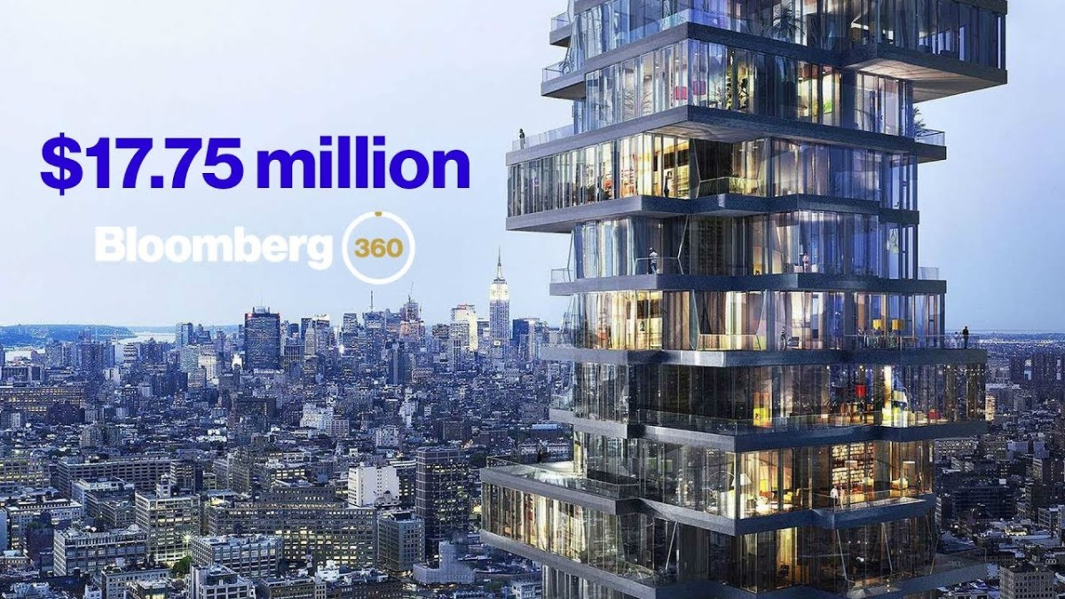 Take a Tour of a $17.75 Million NYC Penthouse in 360