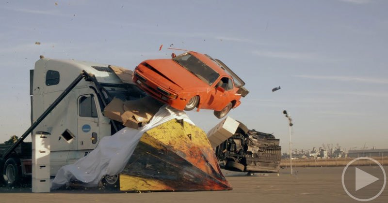 Remembering the Insane Wedge Truck from the MythBusters