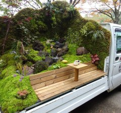 Japanese Mini Trucks Garden Contest