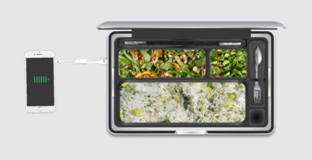 Magnetic Heating Lunch Box