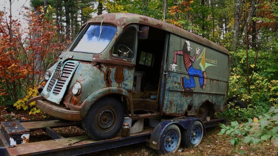 Aerosmith Tour Van