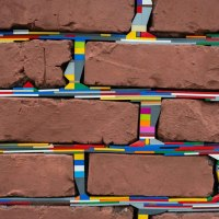 10 Photos of People Around The World Are Filling Cracks With LEGO