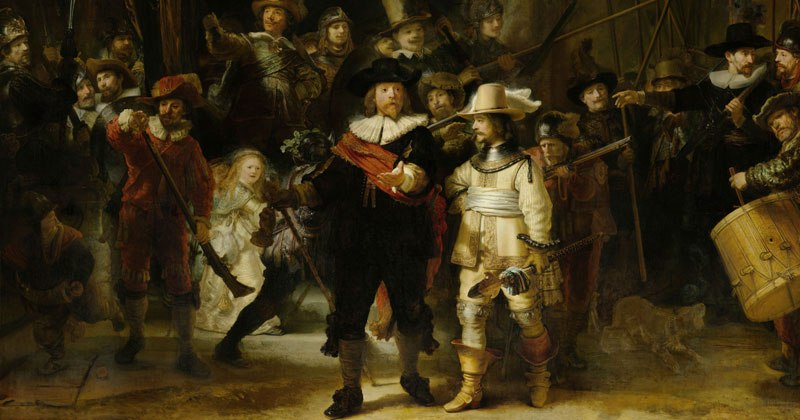 """Rembrandt's """"The Night Watch"""""""