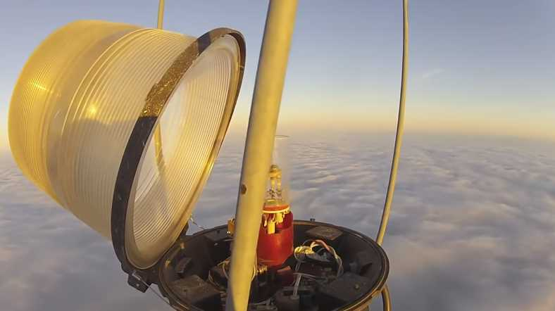 Changing a Bulb Atop a 2000 Ft Tower