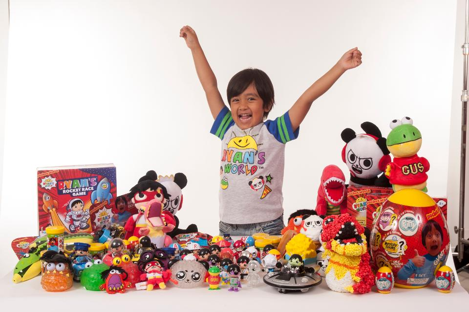 How This 7-Year-Old Kid Made $22 Million Playing With Just Toys