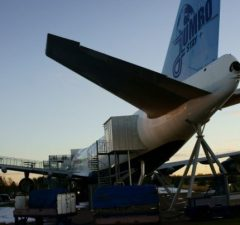 Boeing 747 Turned Into a Hotel