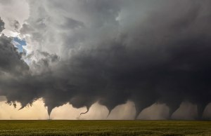 The Evolution of a Tornado