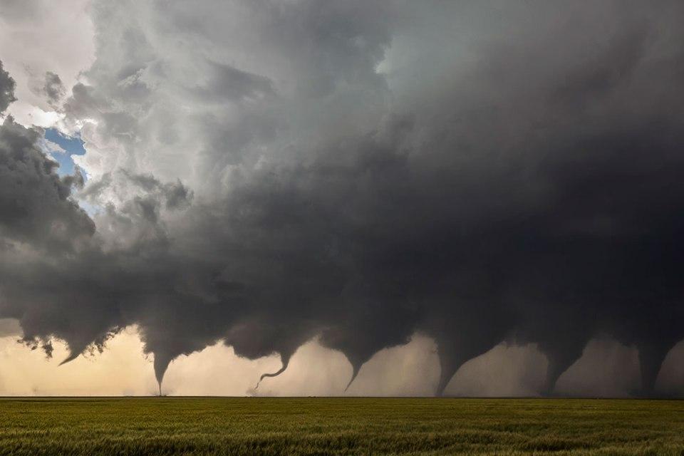 The Evolution of a Tornado