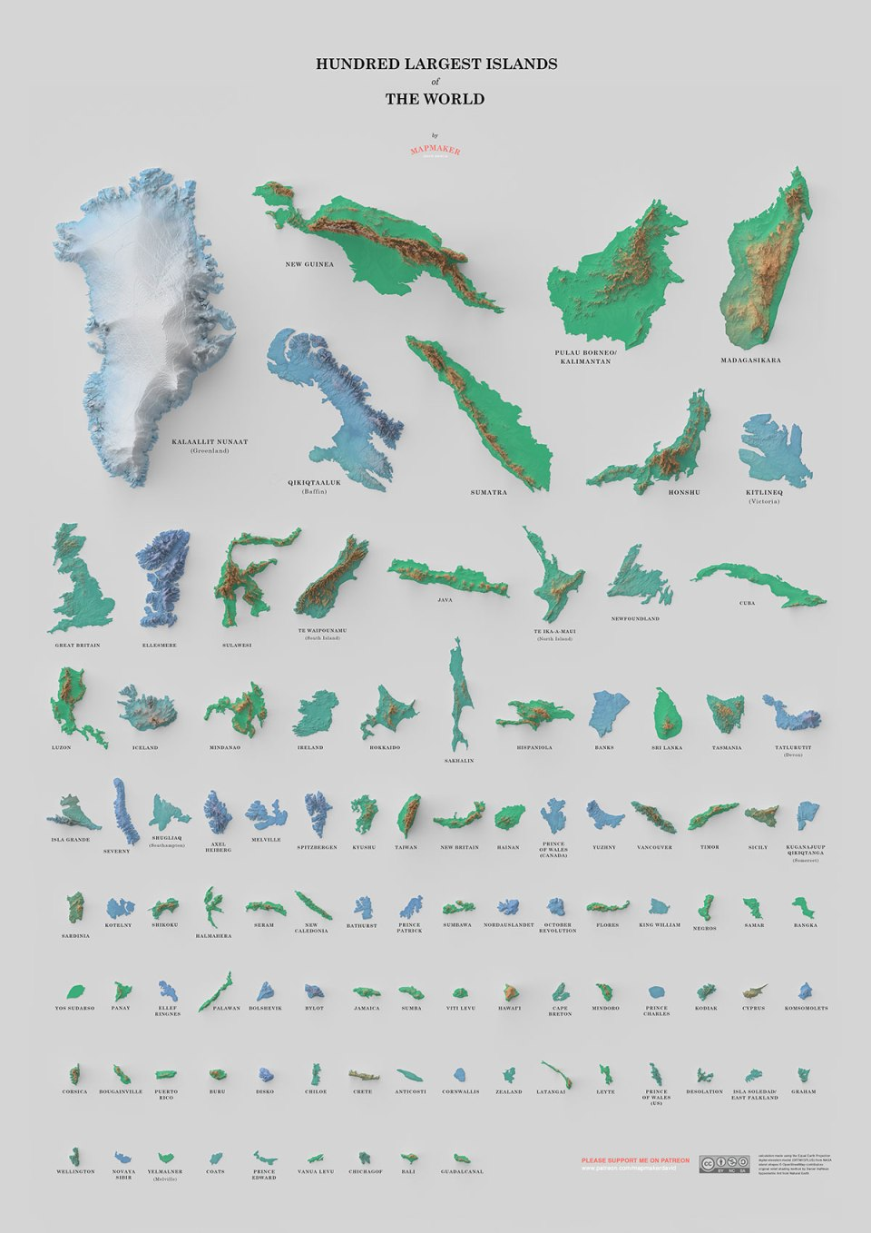 Biggest Islands in the World