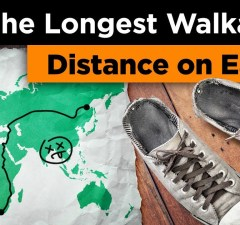 The Longest Walkable Distance on Earth