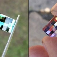 Awesome Pixelated Gems Look Like They Were Came Out of Minecraft