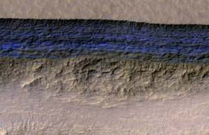 Underground Ice Sheets On Mars