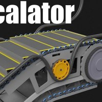 3D Animation Explains How An Escalator Works