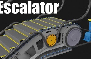 How An Escalator Works