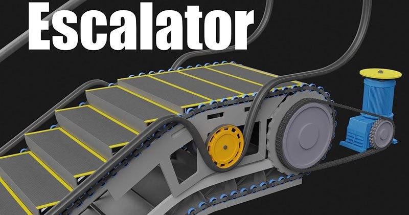 How An Escalator Works