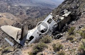 Crashed Plane from 1952