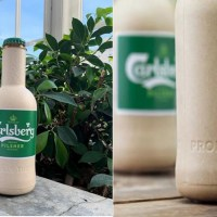 Carlsberg And Coca-Cola Introduce Plant-Based Biodegradable Bottles