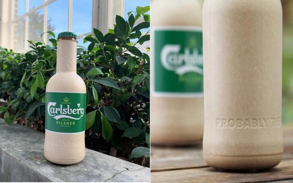 Plant-Based Biodegradable Bottles