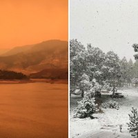 Colorado Went from a 100°F Heatwave to a 12″ Snowstorm in Few Hours