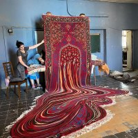 Melting Glitch Rug by Faig Ahmed is Simply Mind Bending