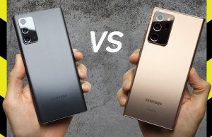Samsung Galaxy Note 20 vs Galaxy Note 20 Ultra Drop Test