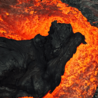 Kilauea Volcano Clip from BBC's Latest Nature Series is Perfect