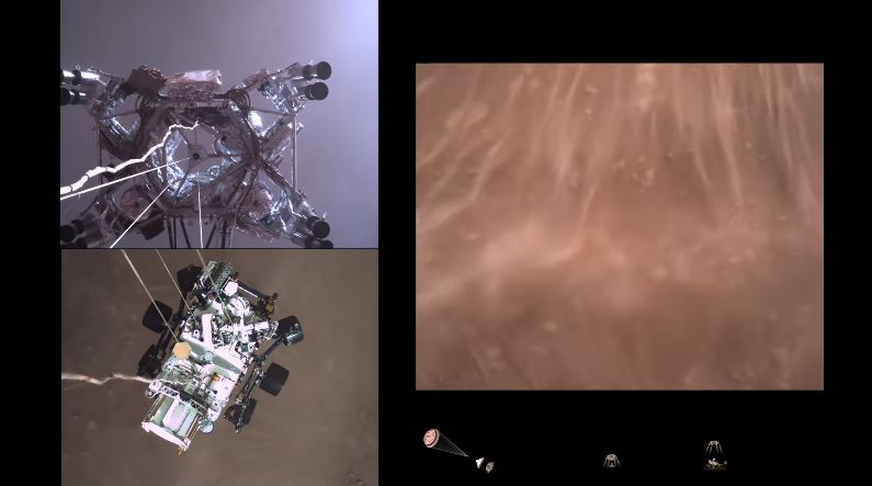 Actual Footage of Humans Landing Machines on Other Planets, NBD