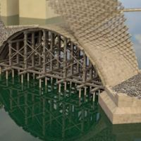 Animation Reveals How Bridges Were Built in Prague in the 14th-Century