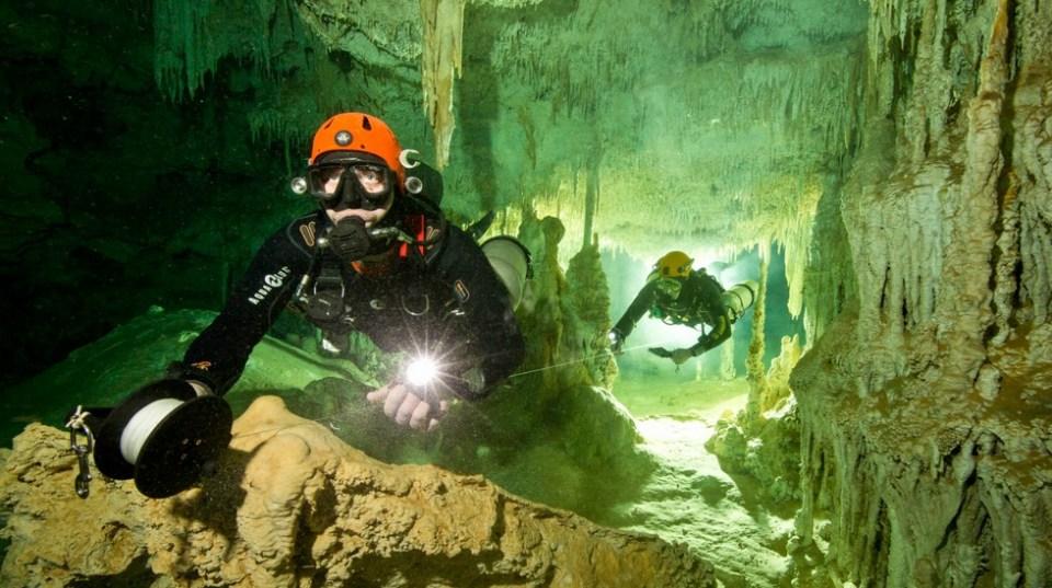 World's Biggest Underwater Cave System