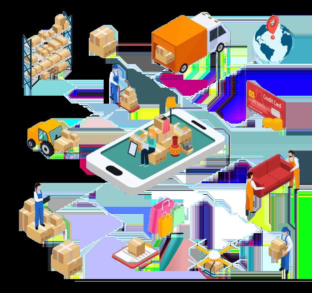 Sistem integrasi manajemen marketplace dan pengriman yang dapat membantu cek resi, cek ongkir, dan tracking pengiriman