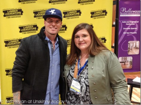Beth Bryan and Vanilla Ice :: International Builder's Show Las Vegas 2013
