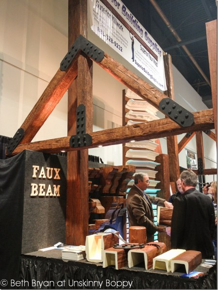 International Builders' Show Las Vegas 2013 faux wood beams