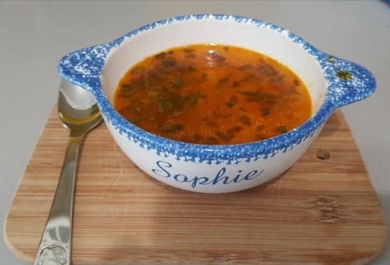 Supă pentru răceală